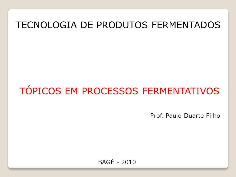 Tópicos em processos fermentativos