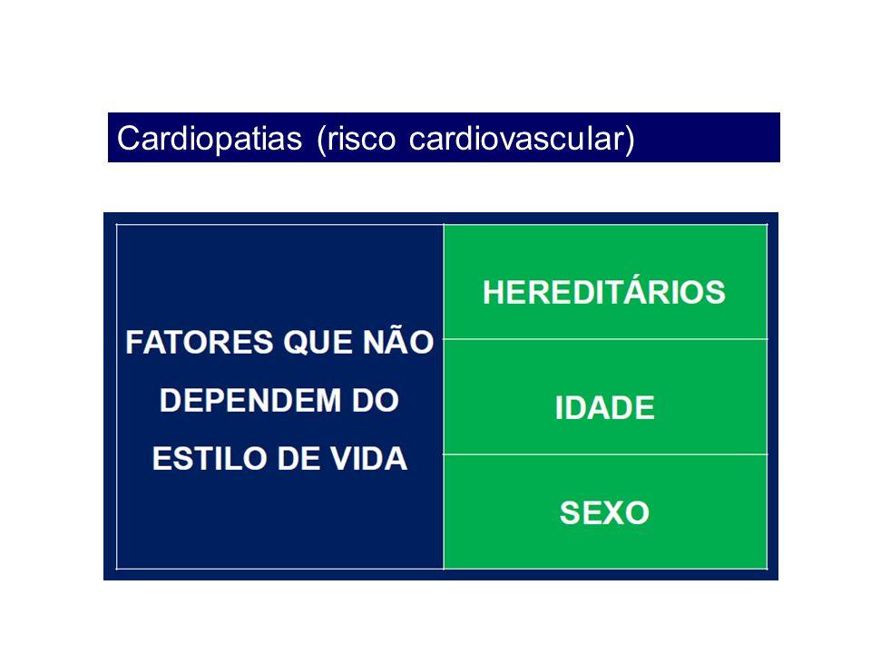 Cardiopatias (risco cardiovascular)