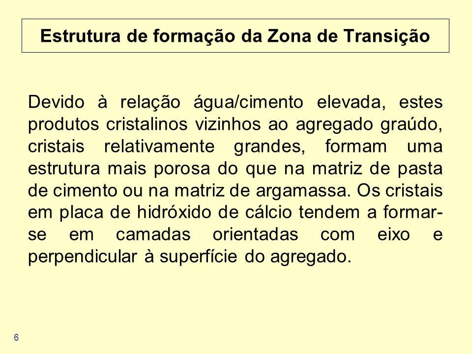 Estrutura de formação da Zona de Transição