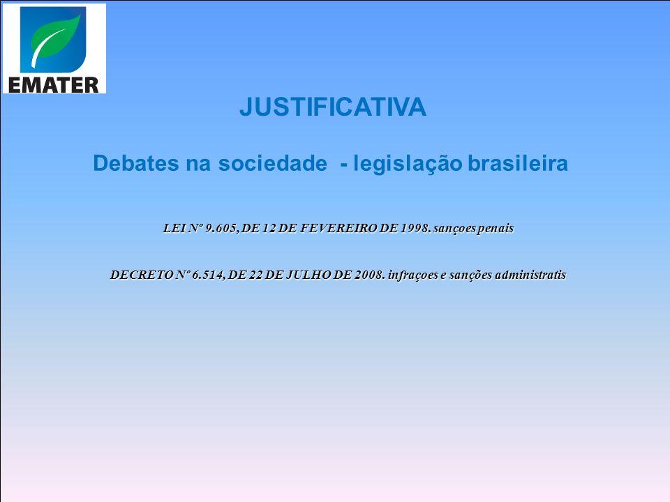 LEI Nº 9.605, DE 12 DE FEVEREIRO DE 1998. sançoes penais