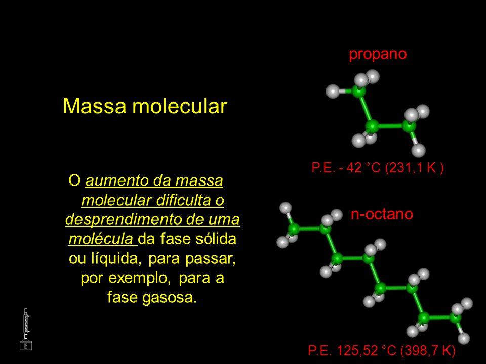 Massa molecular propano