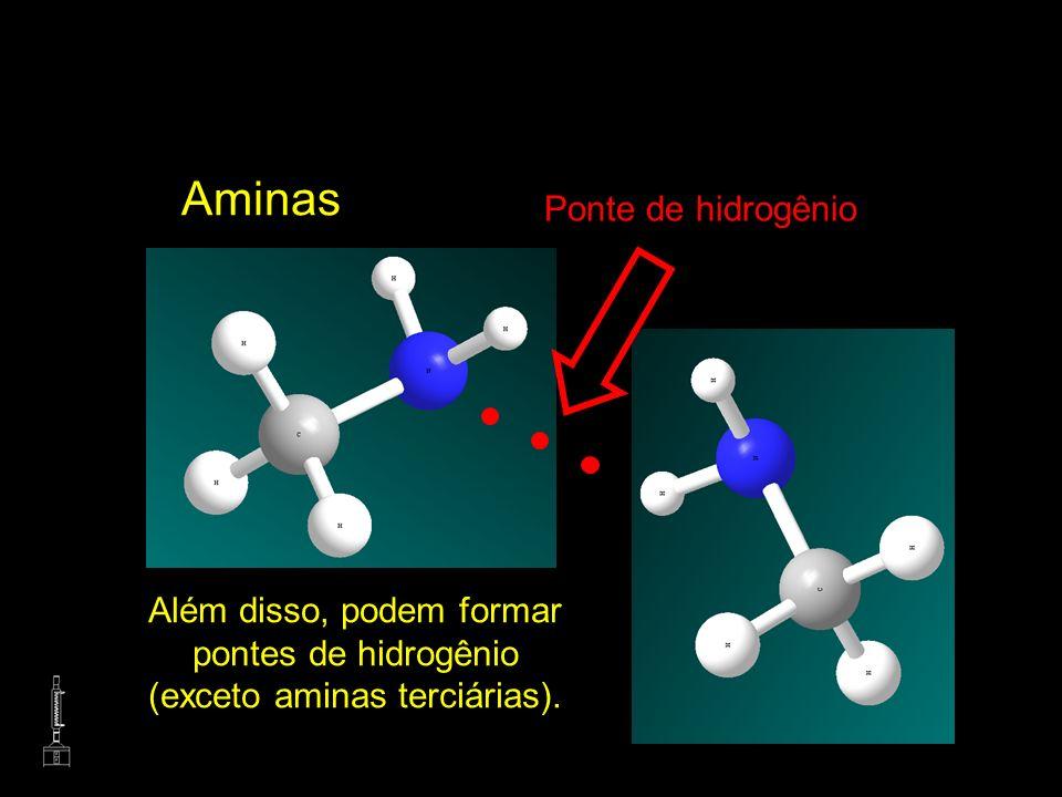 Aminas Ponte de hidrogênio