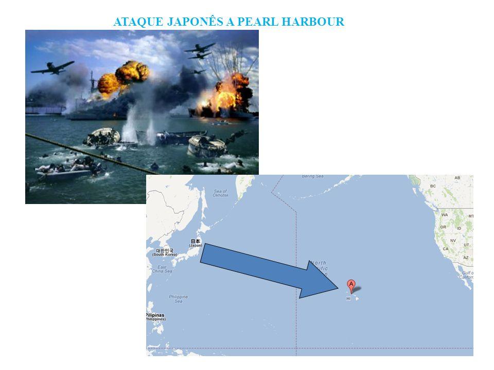 ATAQUE JAPONÊS A PEARL HARBOUR
