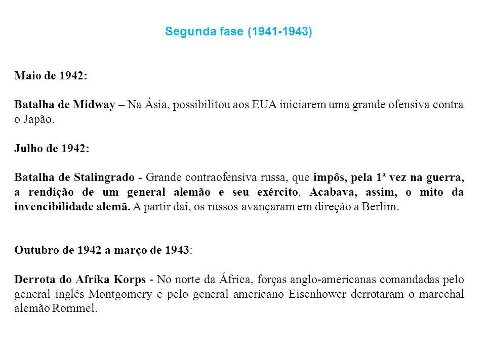 Segunda fase (1941-1943) Maio de 1942: