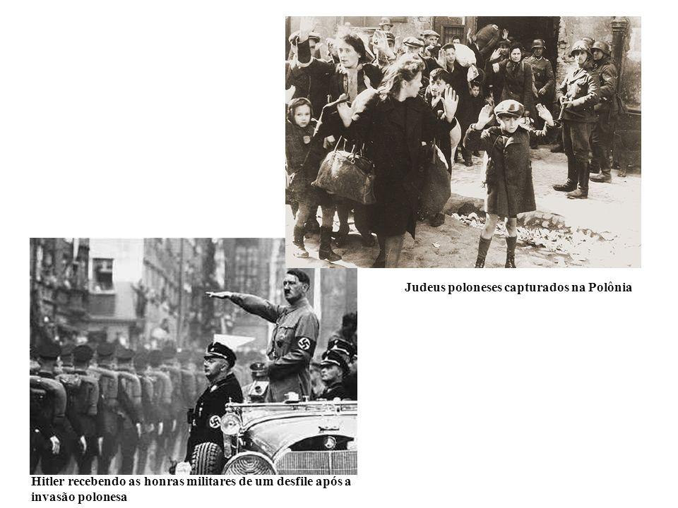 Judeus poloneses capturados na Polônia