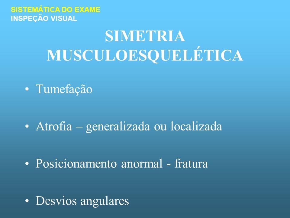 SIMETRIA MUSCULOESQUELÉTICA