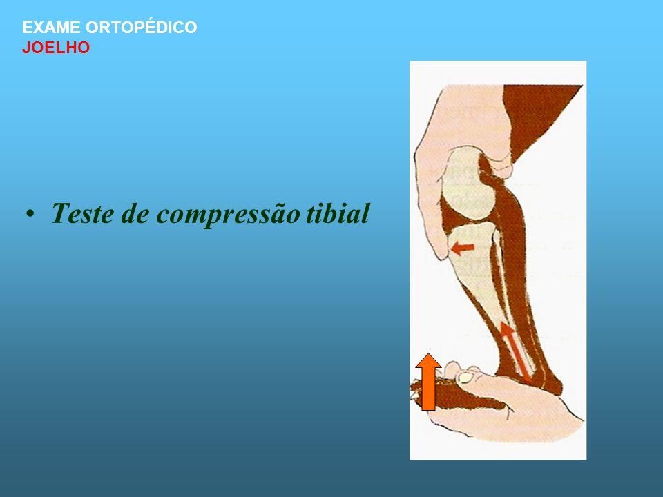 Teste de compressão tibial