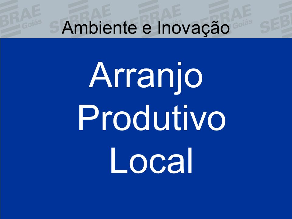 Arranjo Produtivo Local