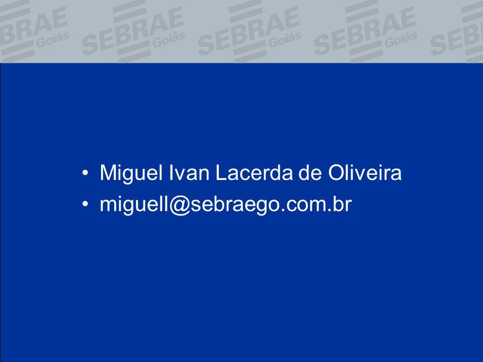 Miguel Ivan Lacerda de Oliveira