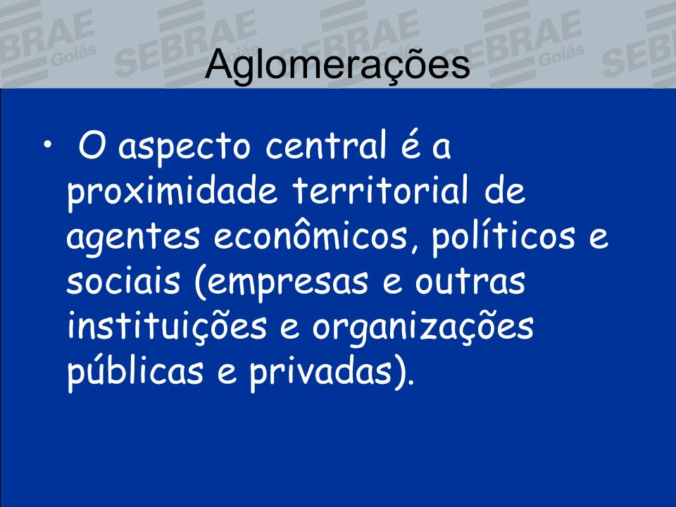 Aglomerações
