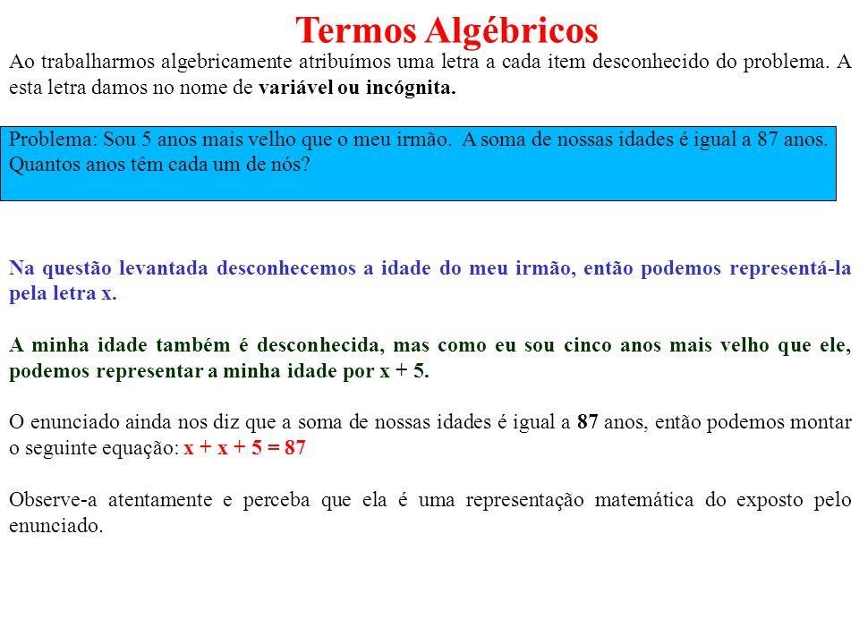 Termos Algébricos