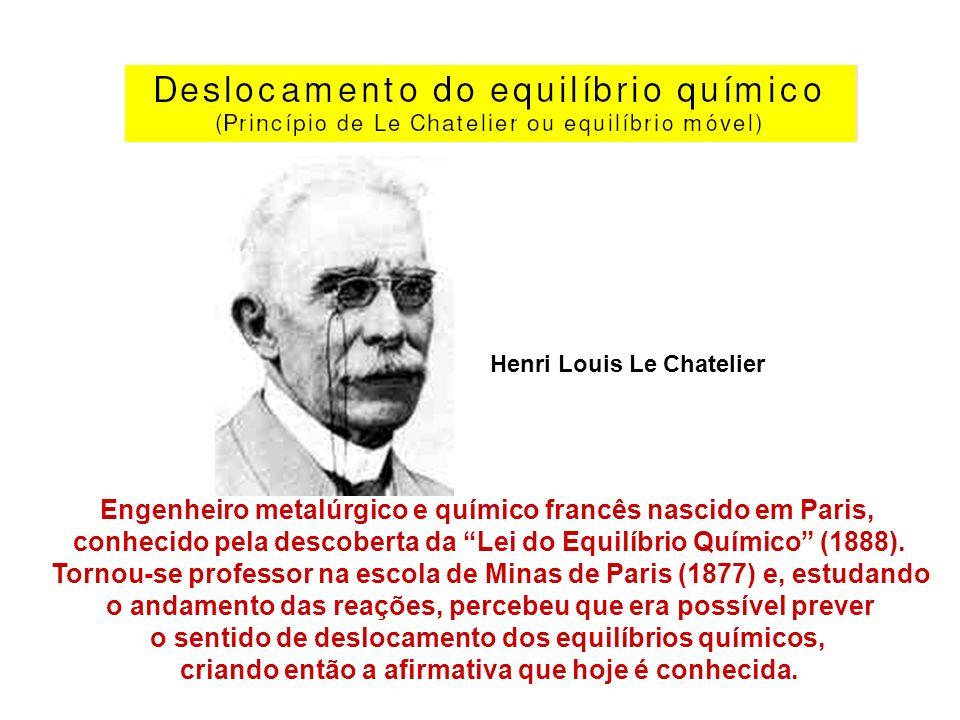 Engenheiro metalúrgico e químico francês nascido em Paris,