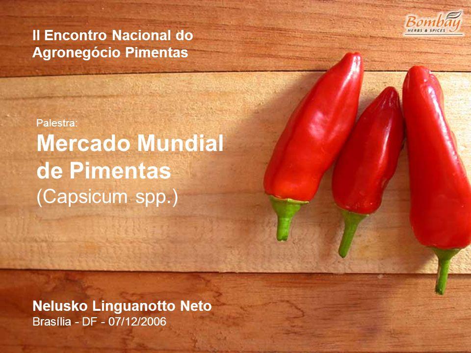 de Pimentas (Capsicum spp.)