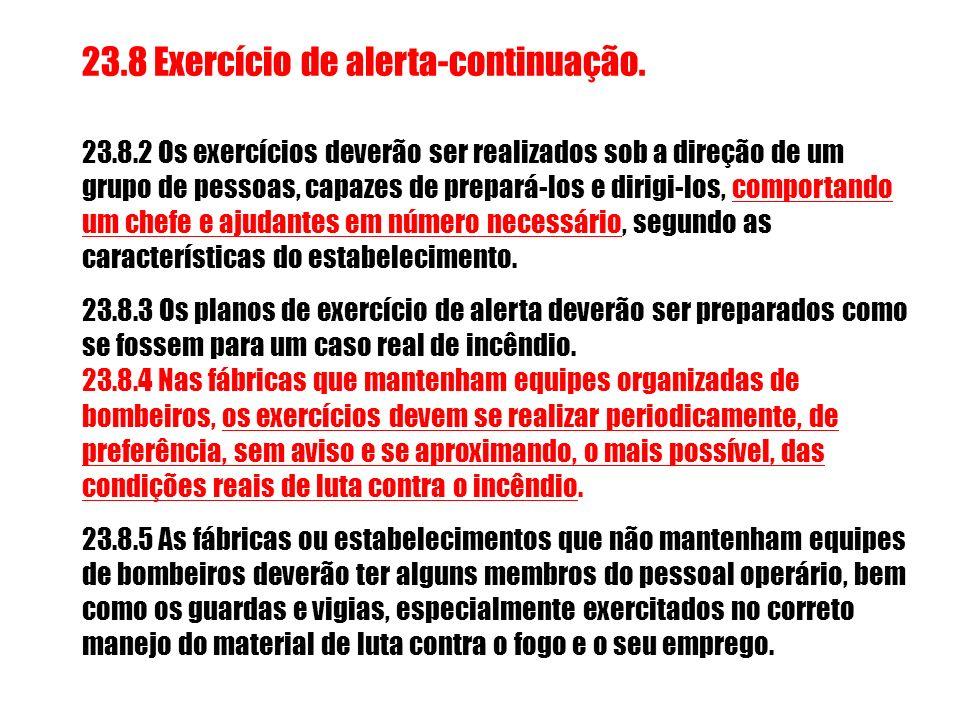 23.8 Exercício de alerta-continuação.