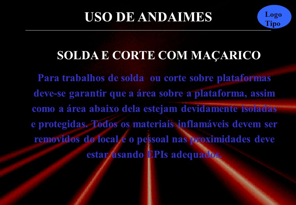 SOLDA E CORTE COM MAÇARICO