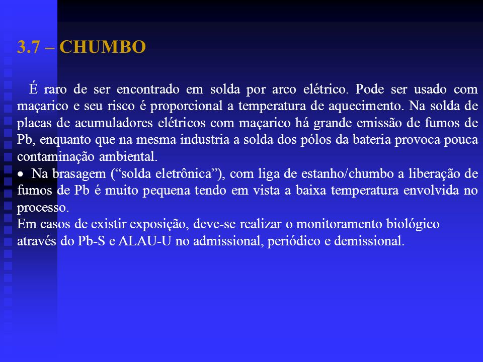 3.7 – CHUMBO