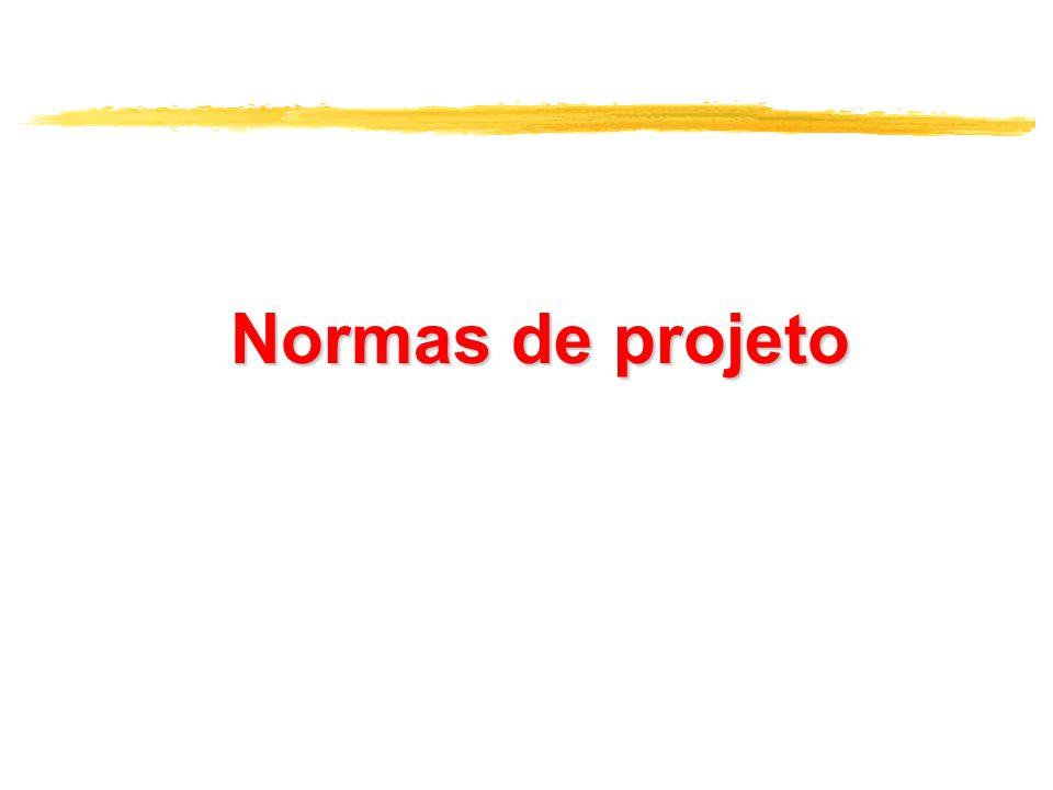 Normas de projeto