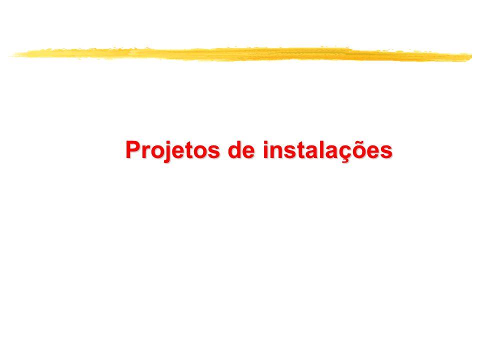 Projetos de instalações