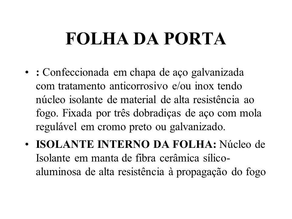 FOLHA DA PORTA