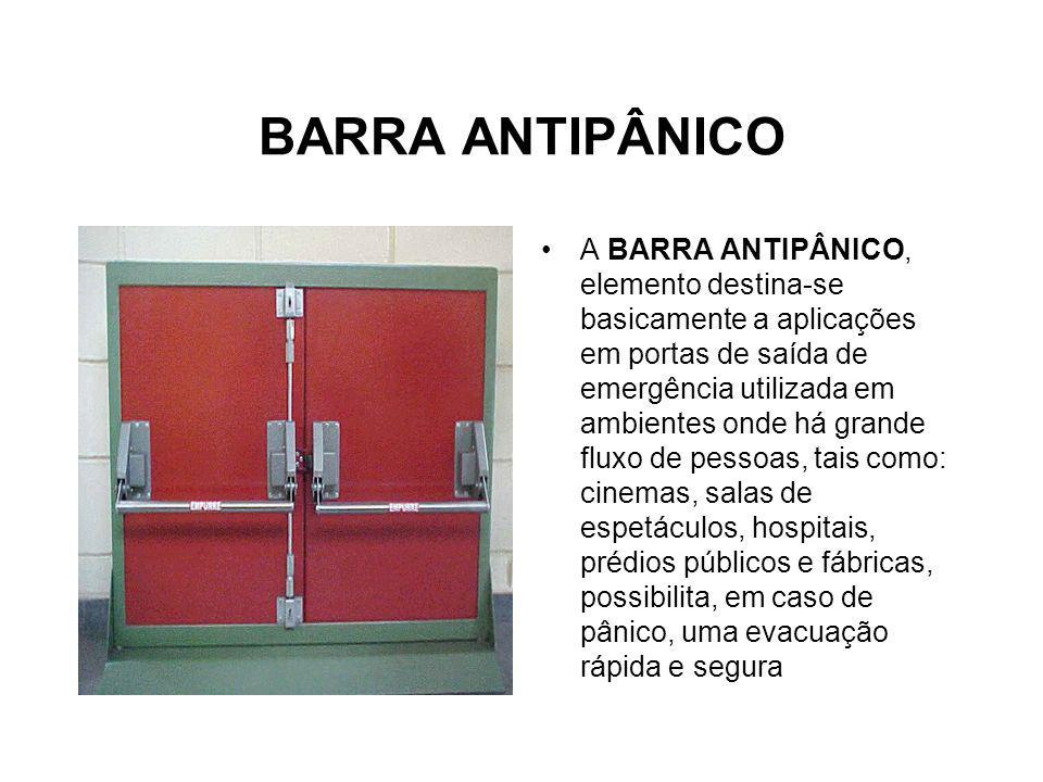 BARRA ANTIPÂNICO