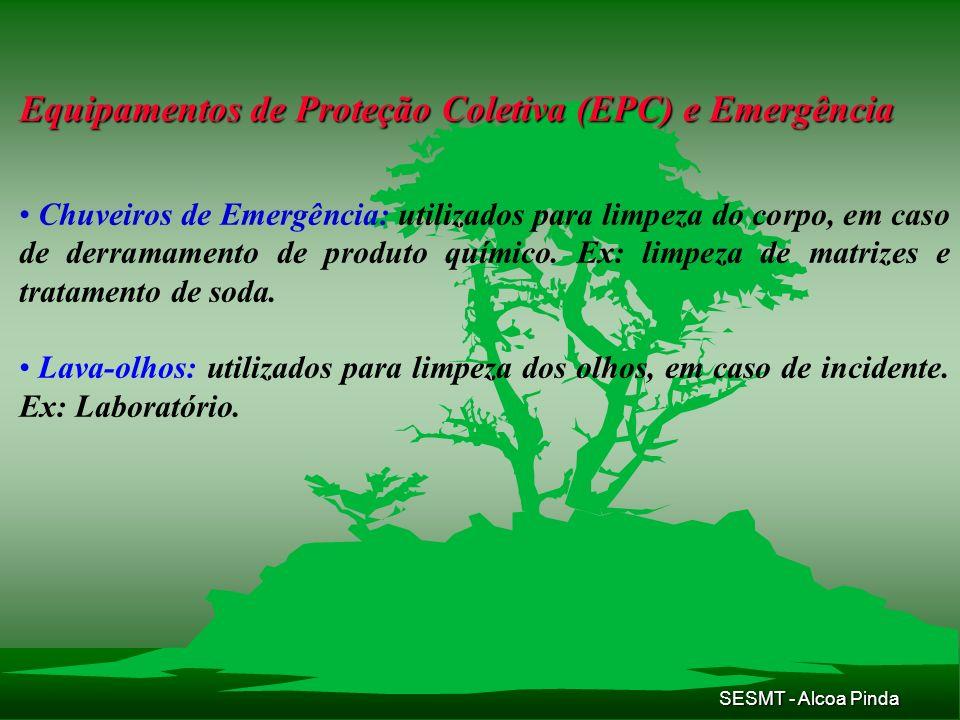 Equipamentos de Proteção Coletiva (EPC) e Emergência