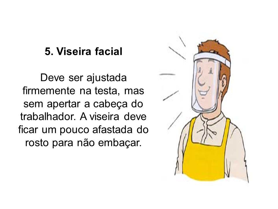 5. Viseira facial