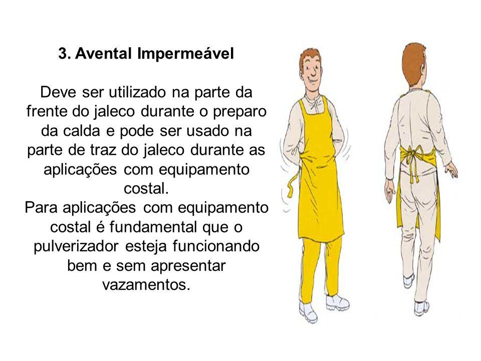 3. Avental Impermeável