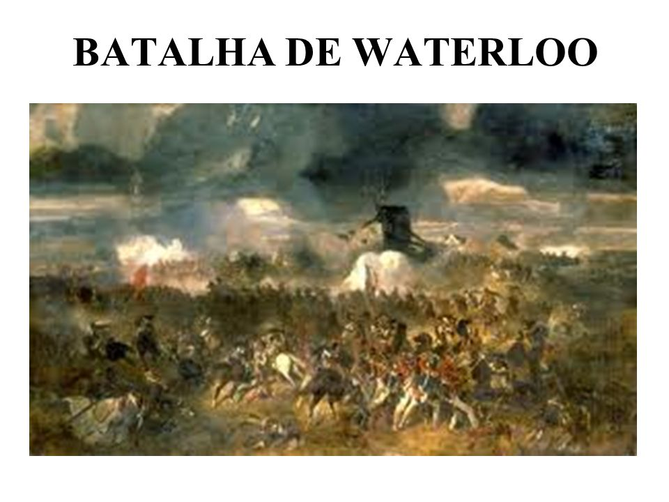 BATALHA DE WATERLOO