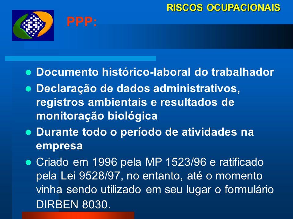 PPP: Documento histórico-laboral do trabalhador