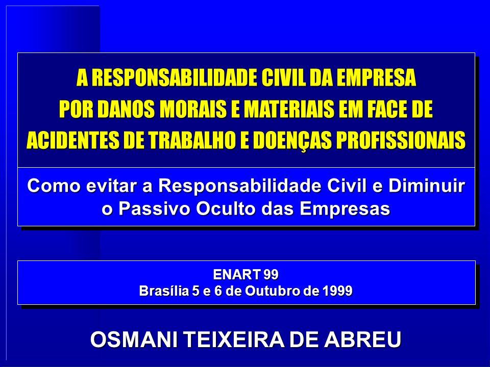 Brasília 5 e 6 de Outubro de 1999 OSMANI TEIXEIRA DE ABREU