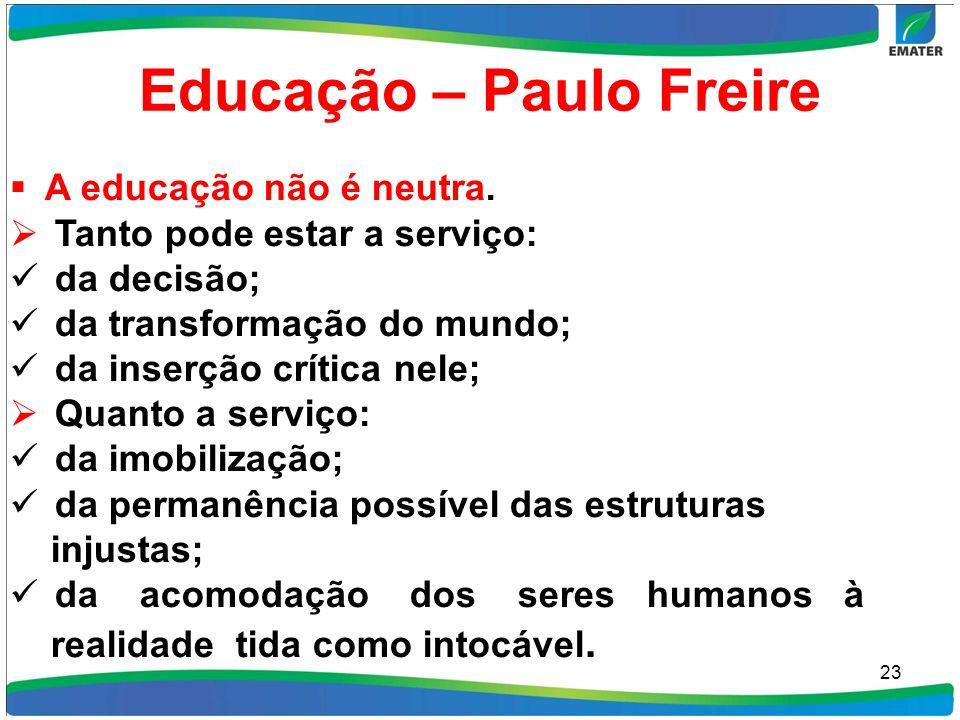 Educação – Paulo Freire