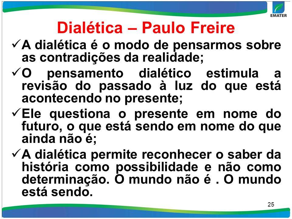 Dialética – Paulo Freire