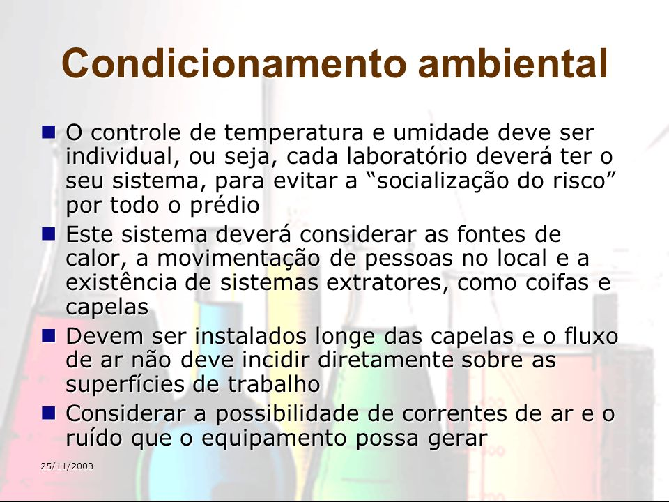 Condicionamento ambiental
