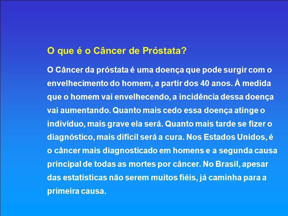 O que é o Câncer de Próstata
