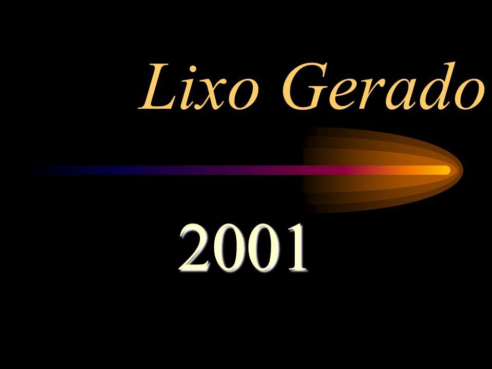 Lixo Gerado 2001