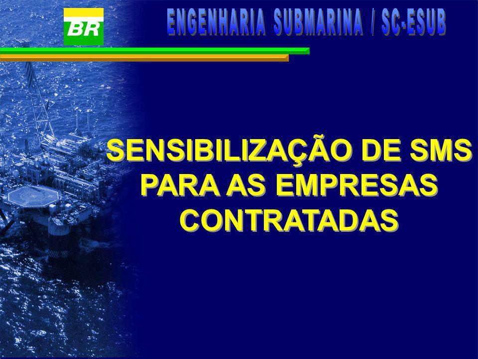 SENSIBILIZAÇÃO DE SMS PARA AS EMPRESAS CONTRATADAS