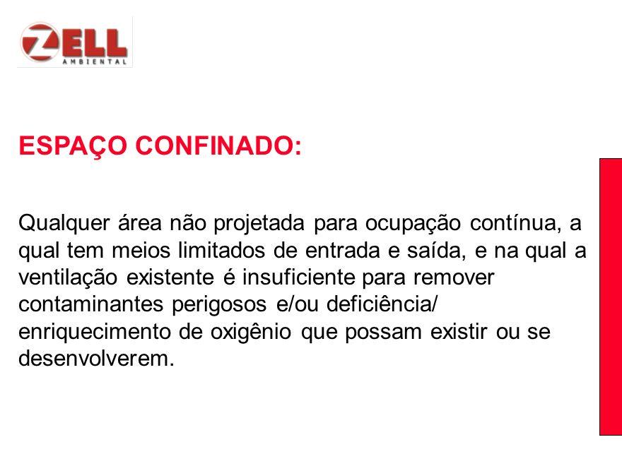 ESPAÇO CONFINADO: