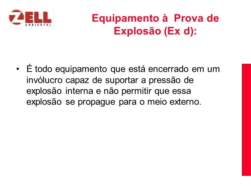 Equipamento à Prova de Explosão (Ex d):