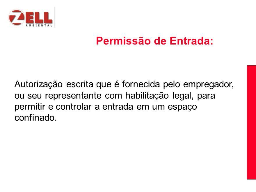 Permissão de Entrada: