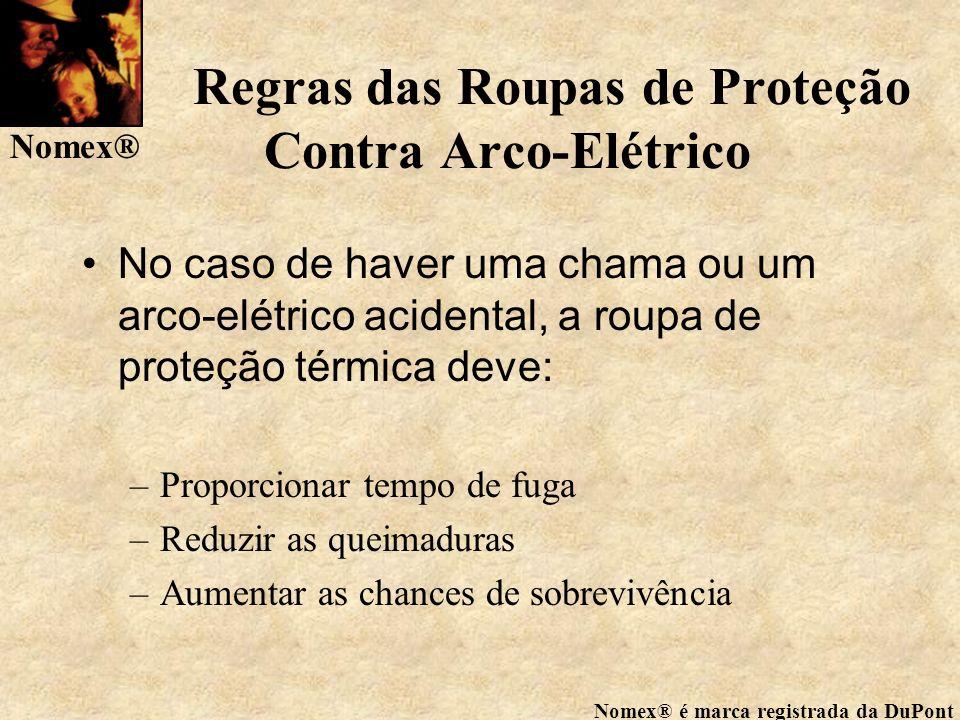 Regras das Roupas de Proteção Contra Arco-Elétrico