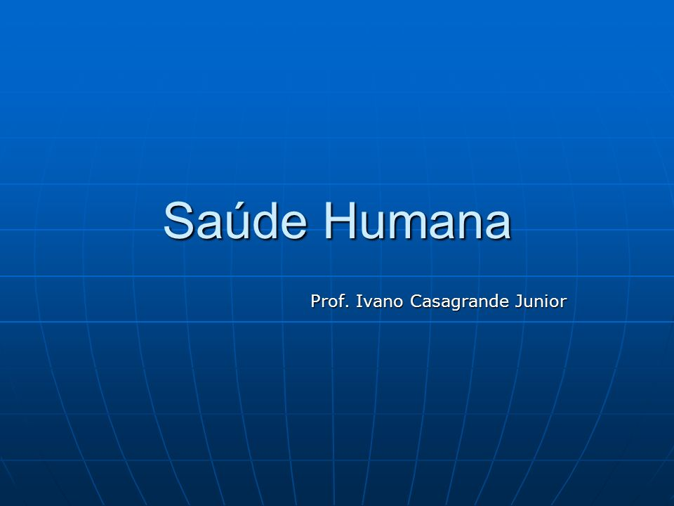 Prof. Ivano Casagrande Junior