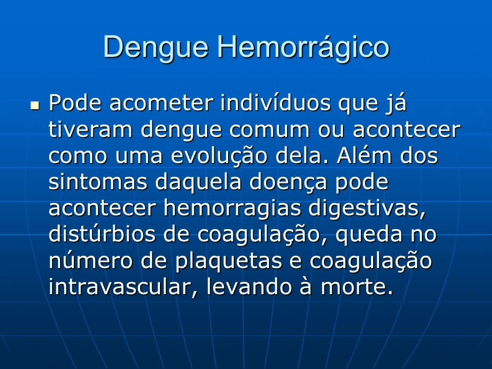 Dengue Hemorrágico