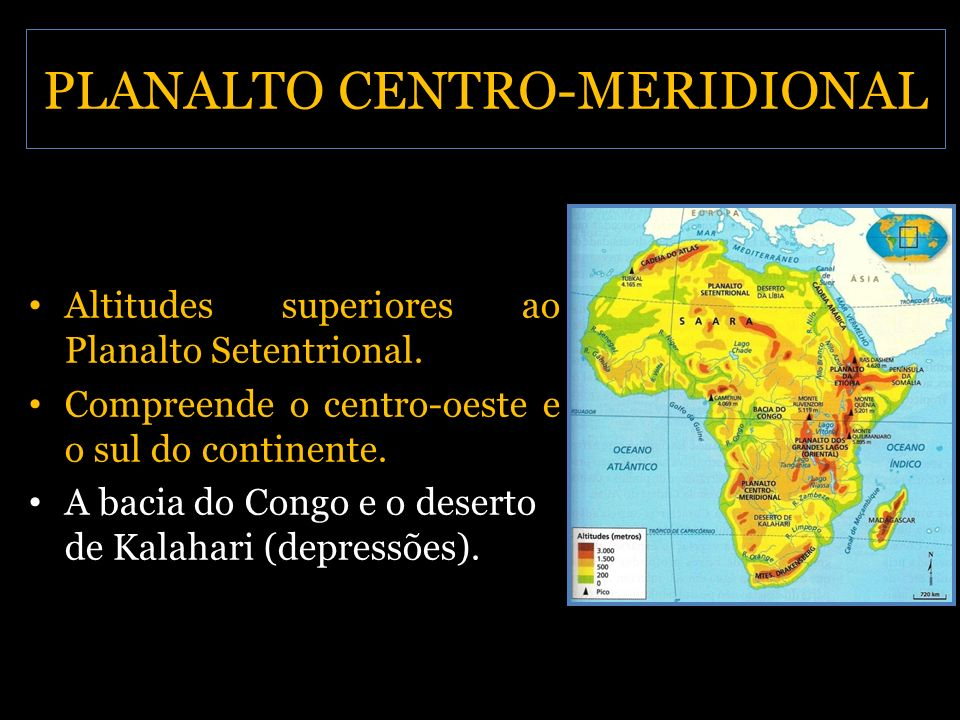 PLANALTO CENTRO-MERIDIONAL