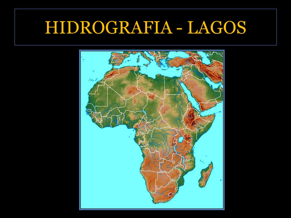 HIDROGRAFIA - LAGOS