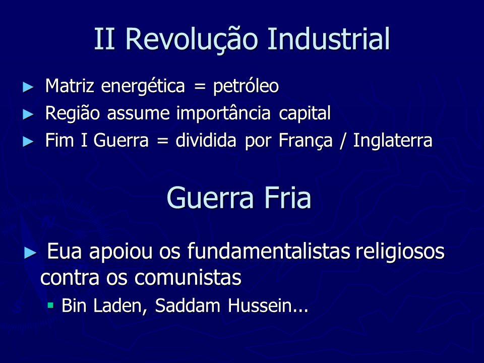 II Revolução Industrial