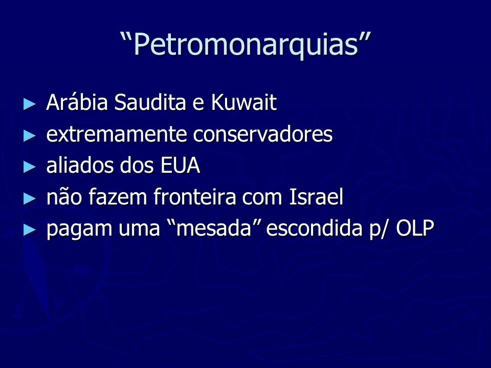 Petromonarquias Arábia Saudita e Kuwait extremamente conservadores