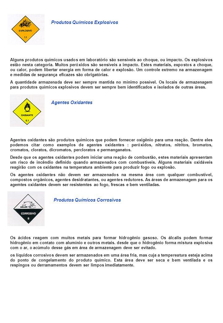 Produtos Químicos Explosivos