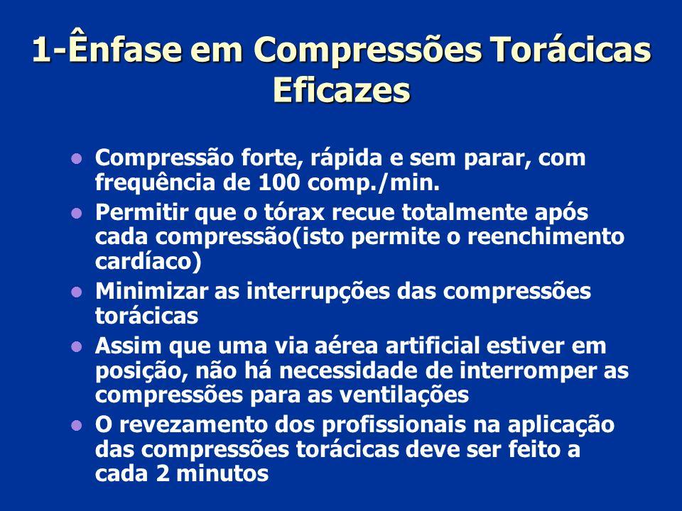 1-Ênfase em Compressões Torácicas Eficazes