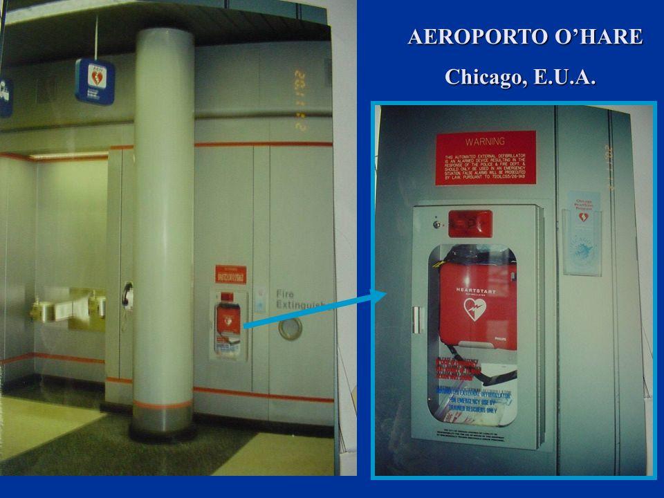 AEROPORTO O'HARE Chicago, E.U.A.