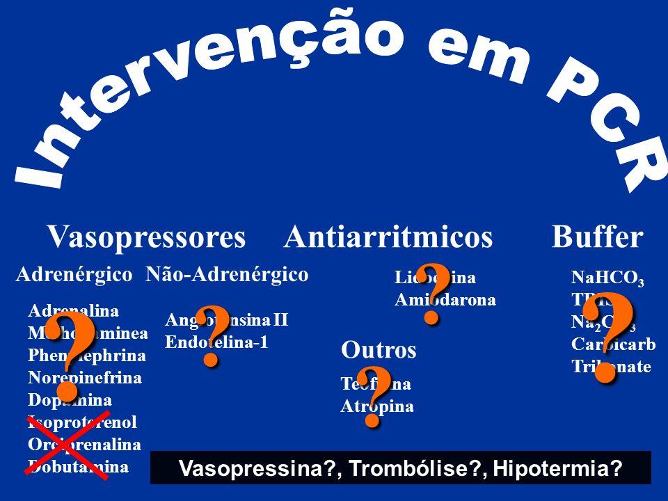 Vasopressina , Trombólise , Hipotermia